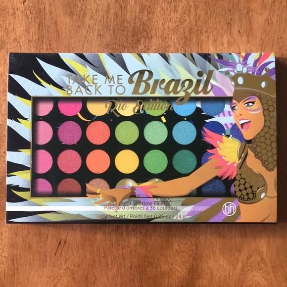 Bh Cosmetics Makeup Take Me Back To Brazil Palette Shimmer Poshmark